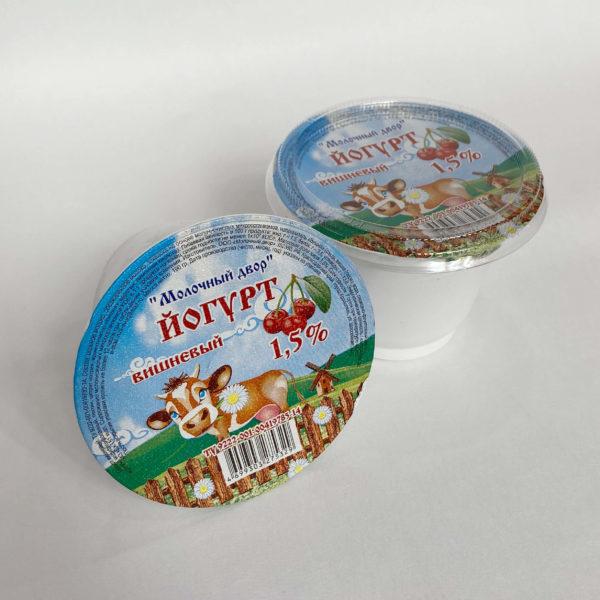 Йогурт 1,5%, 450 гр Молочный двор