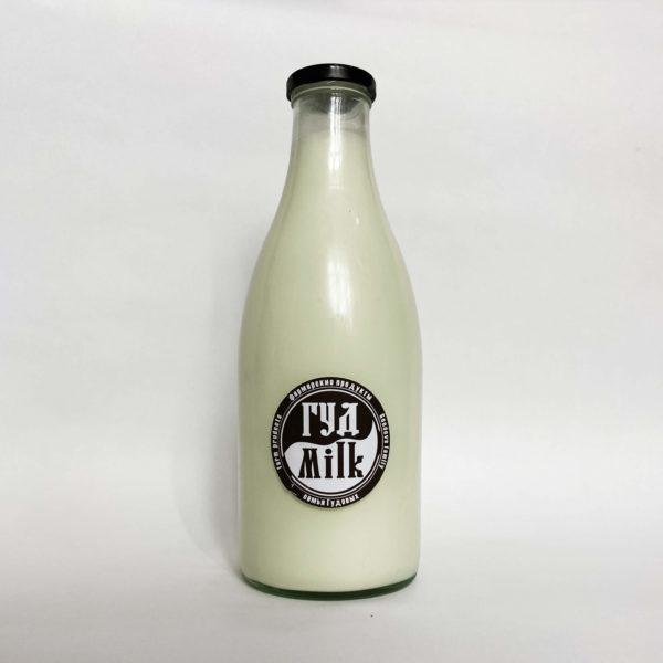 Молоко Гудмилк Стекло большая бутылка
